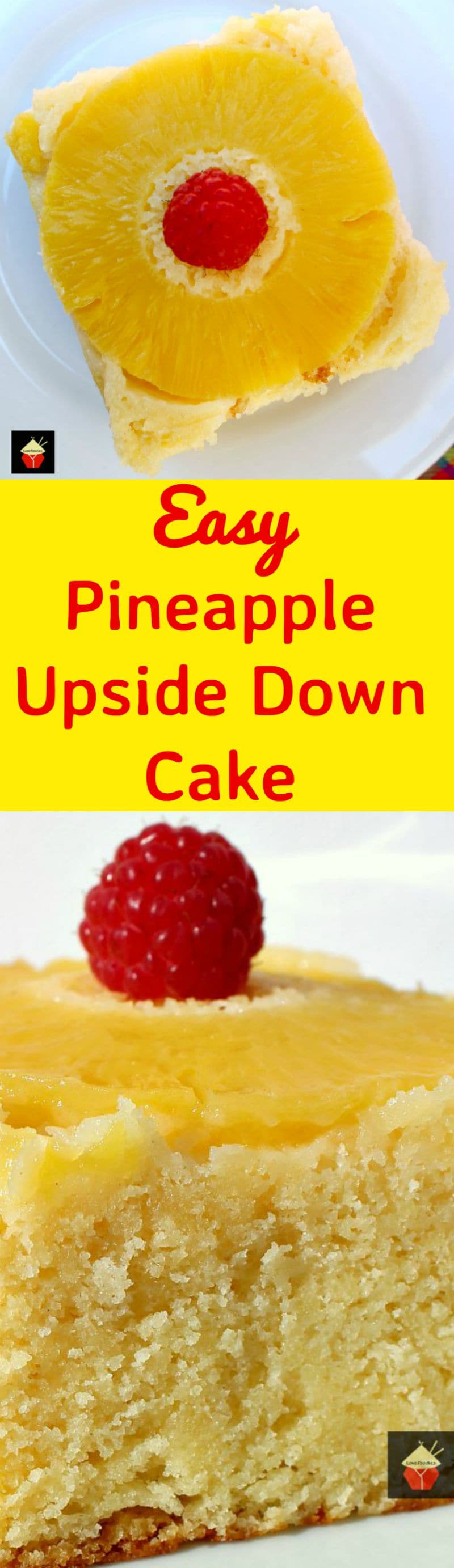 Easy Pineapple Upside Down Cake. This is a very easy, made from ...