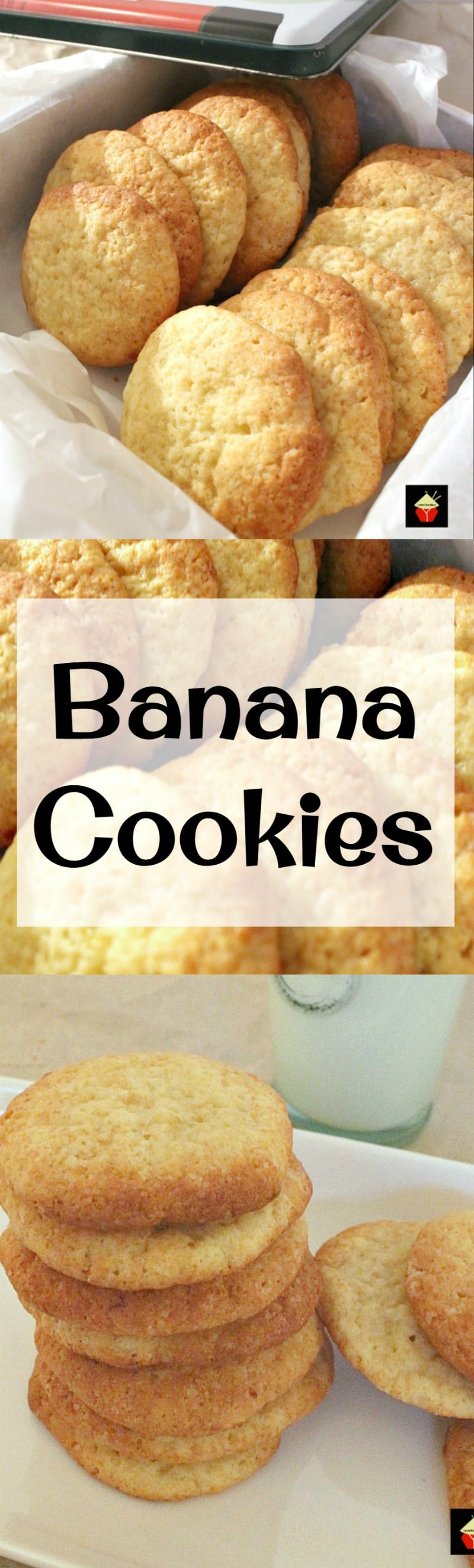 Banana Drop Cookies. Theses are a light fluffy cookie and ...