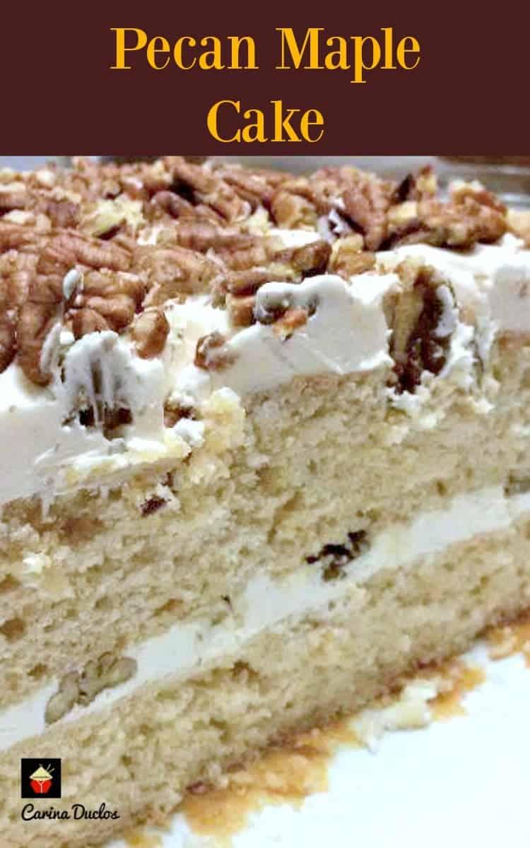pecan maple cake lovefoodies