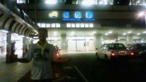 19日目夜浜松駅