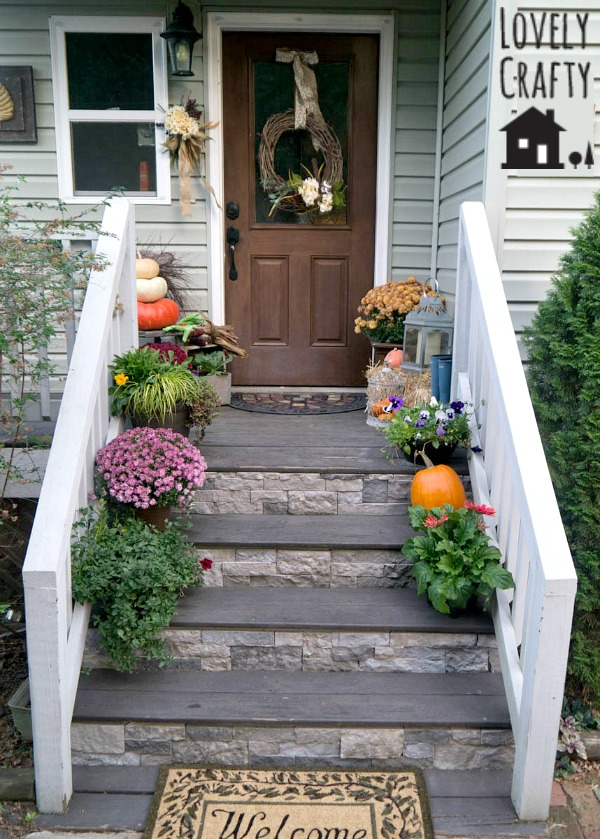 Fall Porch Airstone