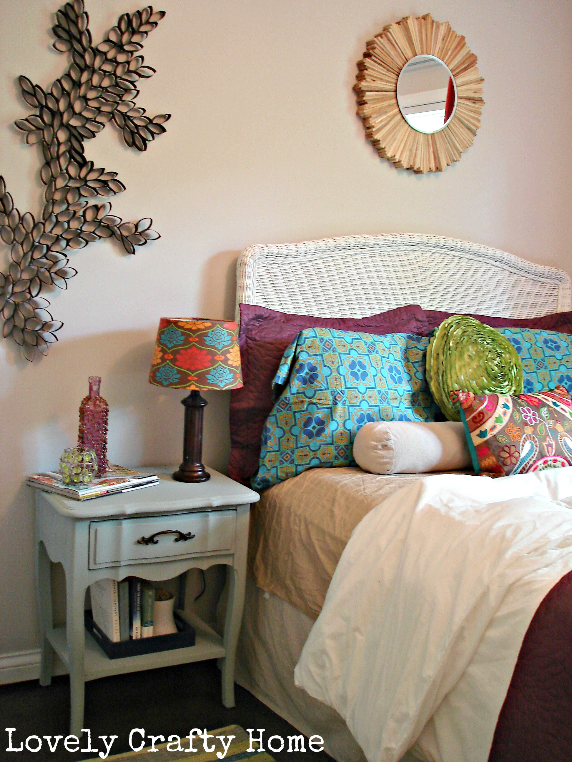 Rachael and Restoration: Grey Washed Wicker