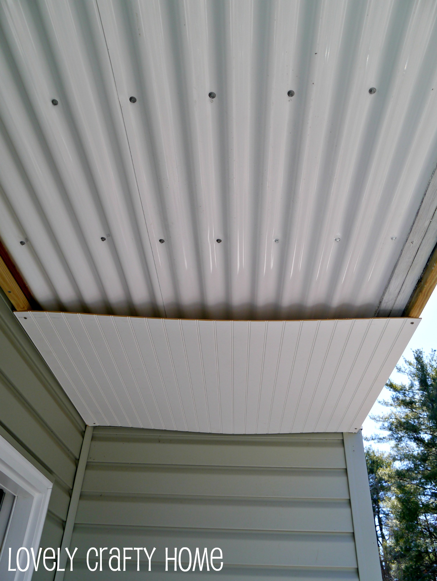 epic underdeck ceiling project mostly done - Beadboard Ceiling