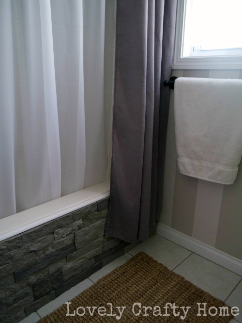 airstone on bathtub