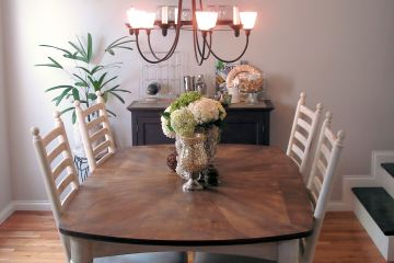 Dining Room New Table
