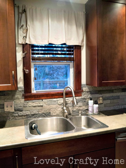 airstone kitchen backsplash