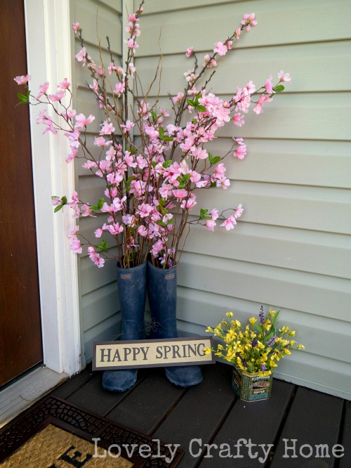 red buds in boots