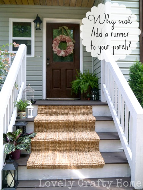 Jute Porch Stair Runner