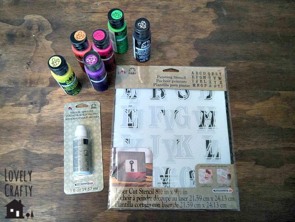 FolkArt Stencil Supplies