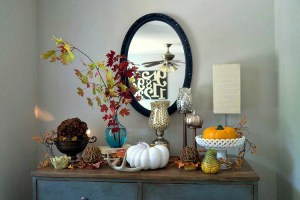 Fall Foyer Decor