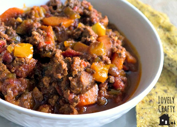 Kitchen Sink Paleo Chili