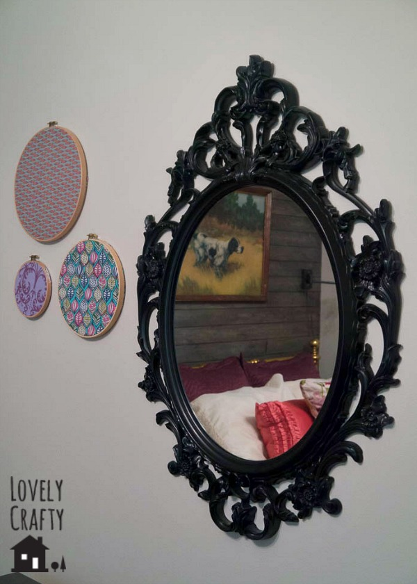 embroidery hoop fabric art