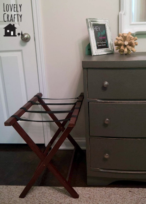 Add A Luggage Rack To Your Guest Room