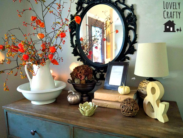 Fall Foyer Decor 2