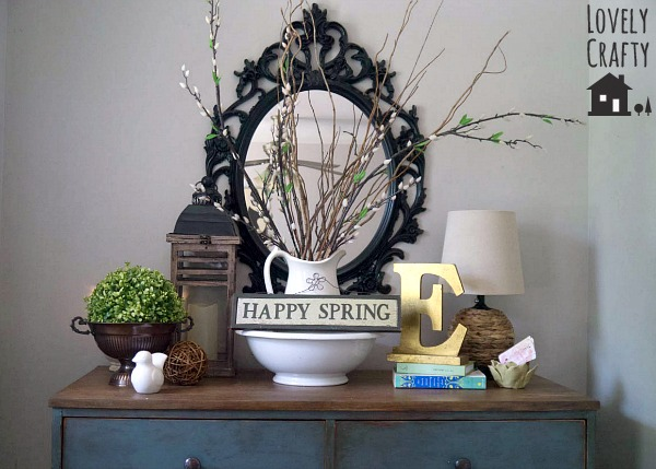 Spring Foyer Natural Elements