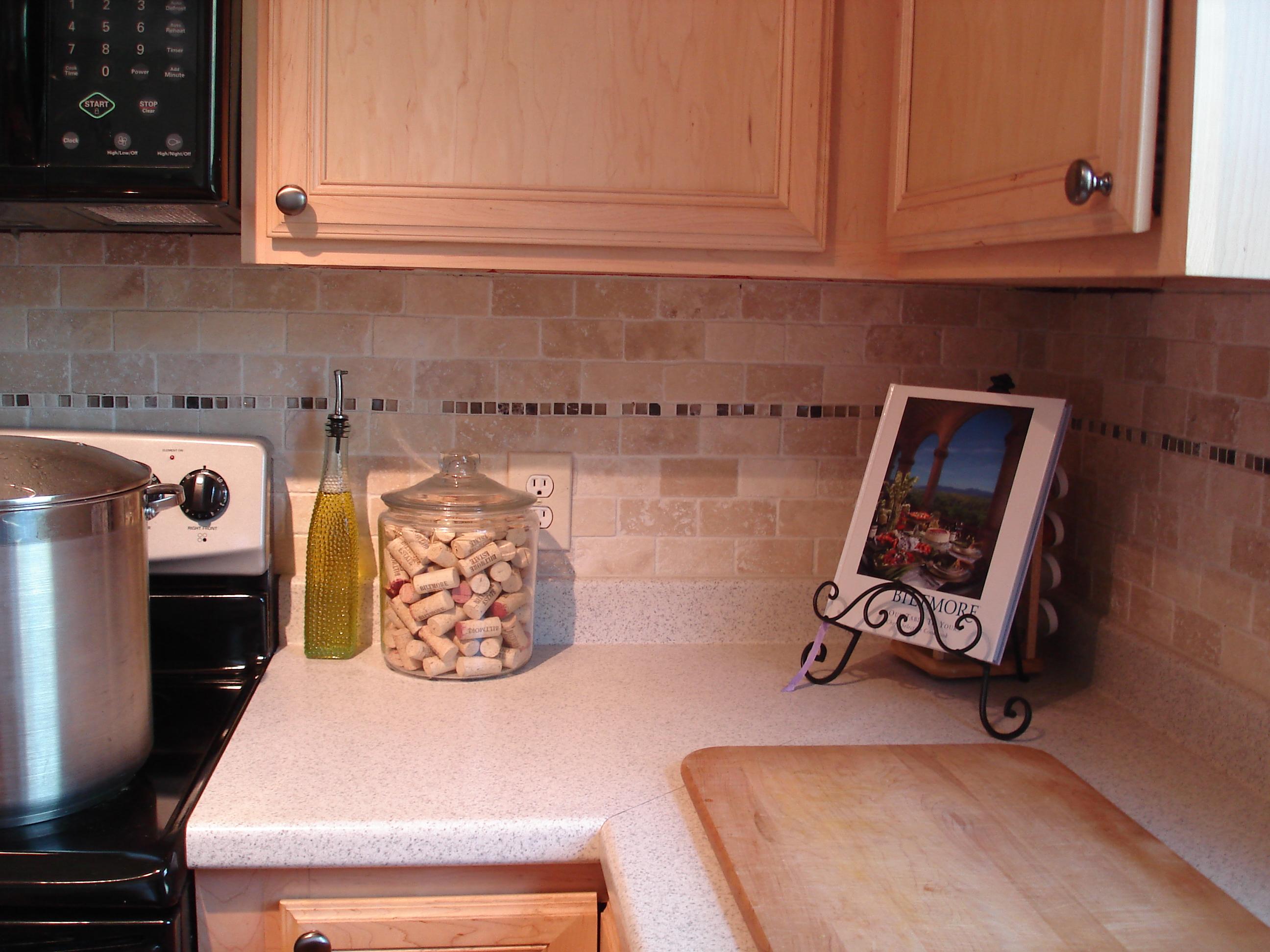tutorial tile kitchen back splash backsplash for kitchen Tutorial Tile Kitchen Back Splash
