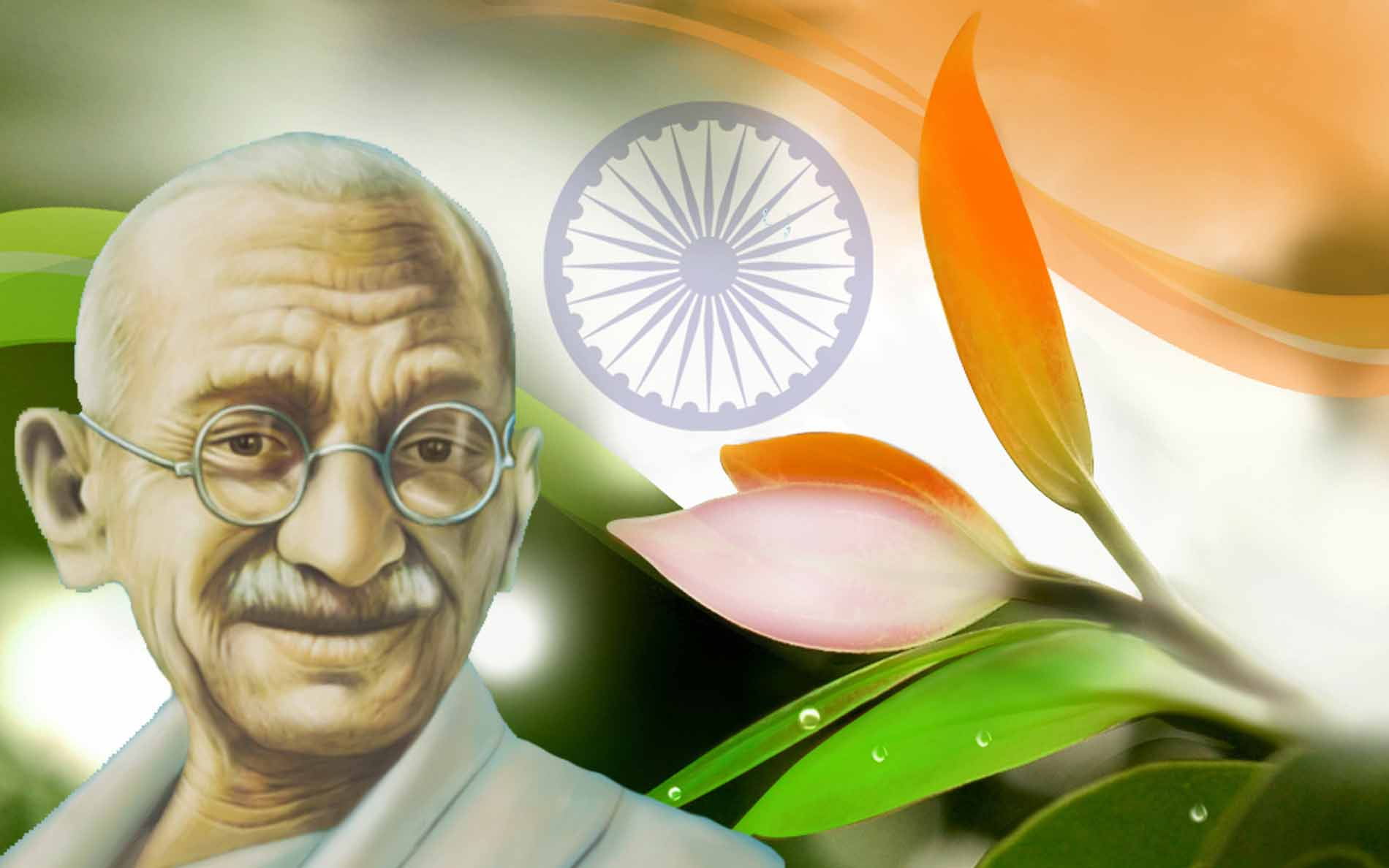 Happy Gandhi Jayanti Sms Massages And Whats App Wishes In