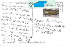 Remarkable Arizona Letters Postcards Course We Miss Malaysia So Thanks A Lot Eme Eme Malay Took Some Effort To Write Maryam How To Write A Postcard Ks1 How To Write A Postcard To An Inmate