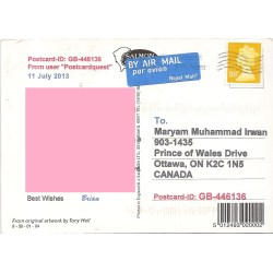 Grande Maryam How To Address A Postcard Usps Owhow 4832186 Properly Address Postcardml Uk B Postcard From Uk Letters Postcards