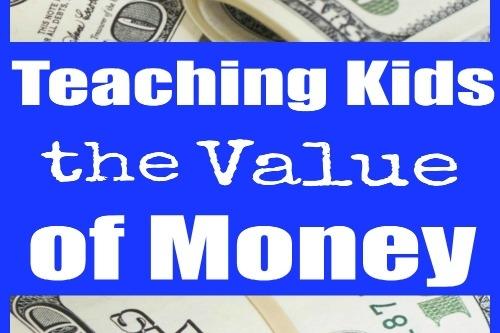 Teaching Kids The Value of Money