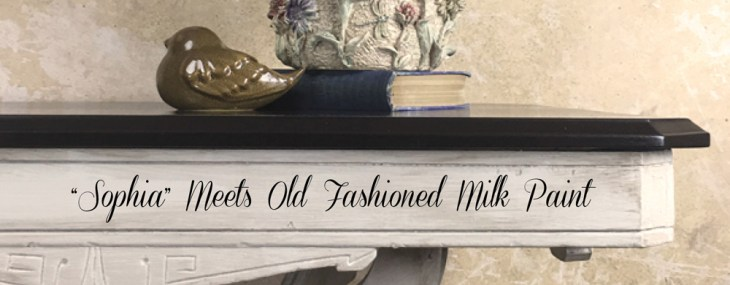 Side Table Given New Life – Old Fashioned Milk Paint Company