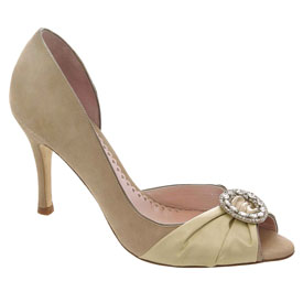 Rose, by Emmy Custom Made Wedding Shoes...