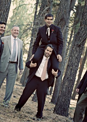 The Groom and his Groomsmen...