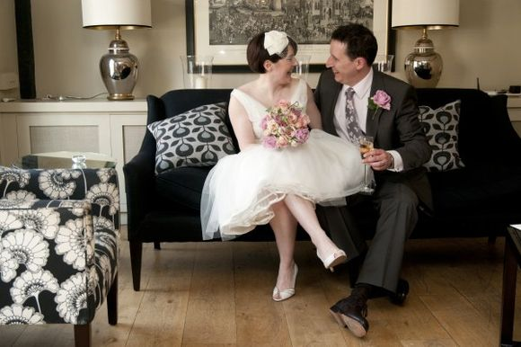 A 1950's Style Wedding Dress for a Vintage Wedding in Rye...