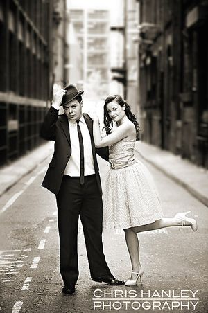 Chris Hanley ~ Urban Vintage Engagement Shoot... (Weddings )