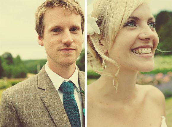 English country tweed wedding