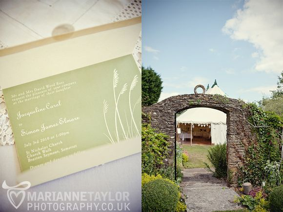 A Quintessentially English, Vintage Style Garden Wedding... (Weddings )