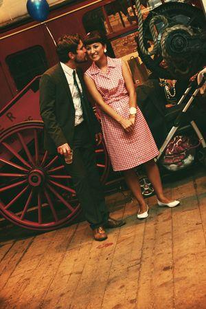 1960's Mod Marriage Fun... (Weddings )