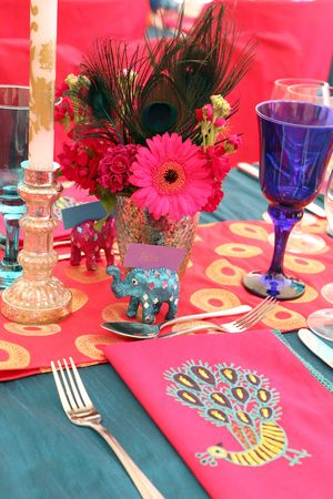 A Bright, Bold and Beautiful Wedding for a A Bombay Duck Bride... (Weddings )