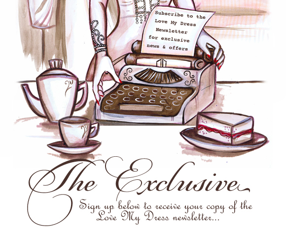 The Exclusive - The Love My Dress UK Wedding Blog Newsletter...