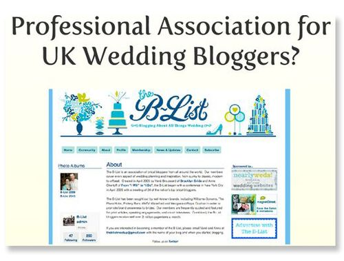 Thought For A Sunday:  Becoming a Full Time Wedding Blogger... (Business + Money Personal, Life, Love Wedding Talk )