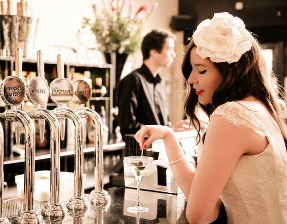 An Art Deco Cinema Inspired 'Rock The Dress' Photoshoot... (Styled Shoots )