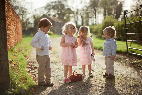 Easter DIY Bridal Party ~ A Secret Garden Photoshoot with Eggs, Bunnies and a Feast of Etsy Ireland Prettiness... (Styled Shoots )
