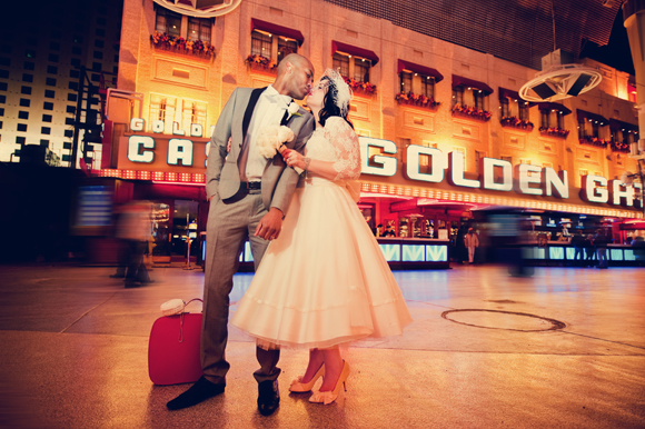 1950s inspired vintage wedding in las vegas love my for Las vegas wedding online