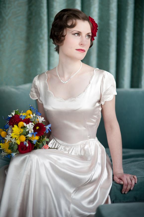 1940s Bride