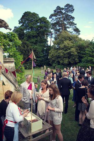 A Rustic, Outdoor, Eco-Chic, and DIY Country Garden Wedding... (Weddings )