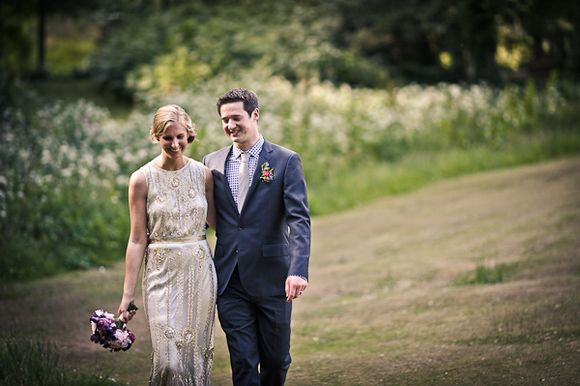 Joy By Jenny Packham, For A Stylish New York Bride And Her