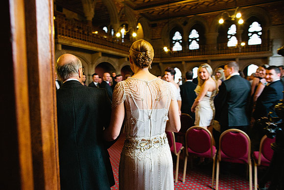 Eden by Jenny Packham for an Elegant City Wedding in Manchester... (Weddings )