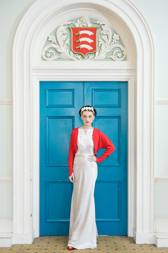 Frida Kahlo inspired bridal shoot with Zoe Lem and Tatty Devine, Photography by Rhapsody Roads...