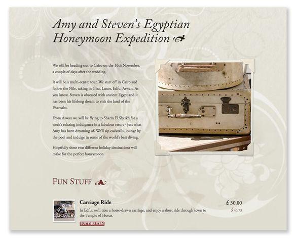 Wedding Gift List Honeymoon : ... honeymoon gift list, visit Buy Our Honeymoon or call 0845 224 0189