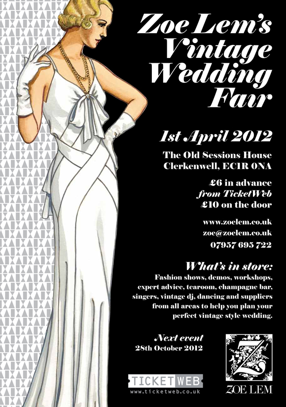 ZL Vintage Wedding Fair April