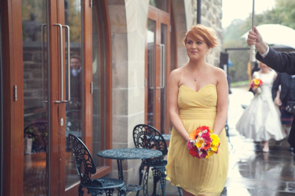 Blue Bridal for a Fun and Relaxed Glasgow Wedding... (Weddings )