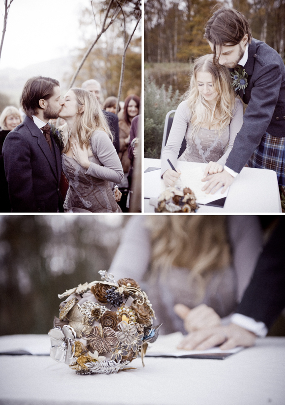 A Relaxed, Rustic and Alternative October Wedding Planned in Just Nine Weeks... (Weddings )