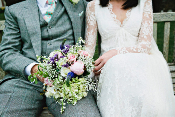 An Old English Tea Party and Spring Country Garden Inspired Wedding... (Weddings )