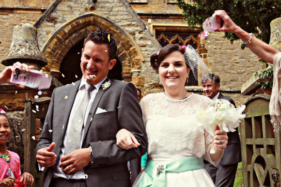 """I Love You More Than The Moon"" ~ A 1940s and '50s 'Make Do & Mend' Inspired Wedding... (Weddings )"