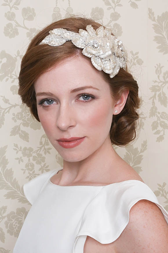 Emmy ~ Glamorous and Vintage Inspired Bridal Headpieces... ()